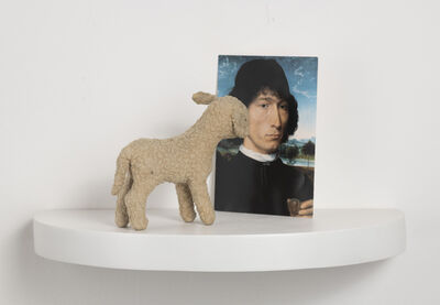 Liliana Porter, 'Situation with Memling's Portrait of a Man', 2012