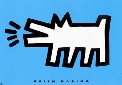 Keith Haring, 'Barking Dog', 1994