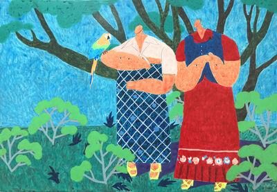 HUANG Yu-Chia 黃昱佳, 'Walk in the tree shade 樹蔭下漫步', 2018
