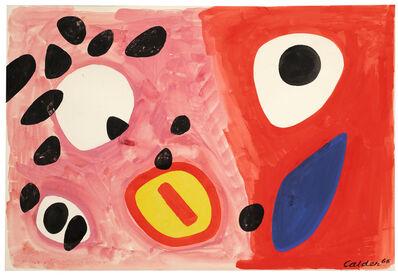 Alexander Calder, 'Attention', 1965