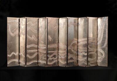 Nancy Lorenz, 'Silver Cloud and Gold Dragon Screen', 2012