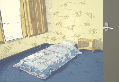 Beth Campbell, 'Space (In/Out) In An Empty Bedroom', 2007