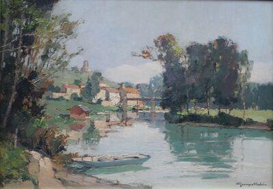 Georges Charles Robin, 'Paysage au Bord de l'Eau'