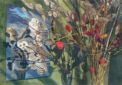 Jane E. Goldman, 'Audubon December', 2017