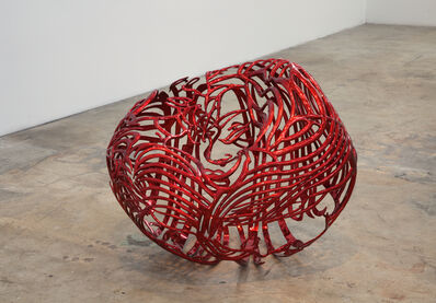 Ghada Amer, 'The Heart', 2012