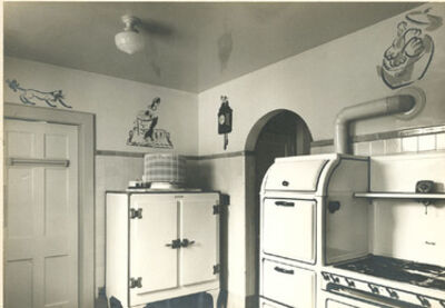 Samuel Gottscho, 'Mr. and Mrs. Houlder Hudgins, residence in Greenwich, CT, Kitchen I', 1944