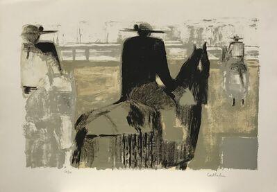 Bernard Cathelin, 'Les picadores', 1965