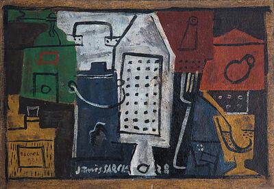 Joaquín Torres-García, 'Nature morte au grattoir blanc', 1928