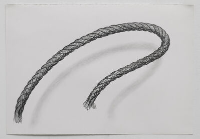 Claudia Parducci, 'Rope Drawing, Day 25', 2019