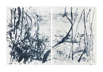 Shinro Ohtake, 'Indigo Forest 23', 2015