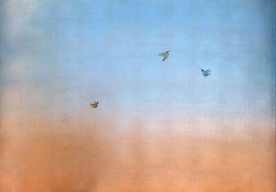 Carolyn Reynolds, 'Three Hummers at Dawn II', 2021