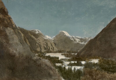 William Bradford, 'Yosemite in Winter', 1878