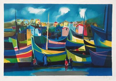 Marcel Mouly, 'Les Voiliers', 1999
