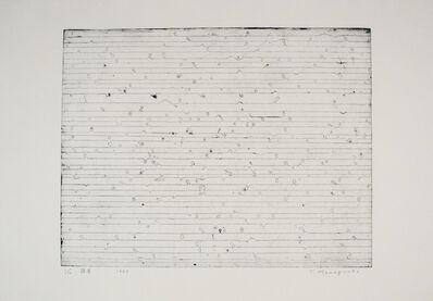 Tatsuo Kawaguchi, 'Bud', 1963