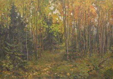 Lidya Stanislavovna Nefedova, 'Forest', 1945