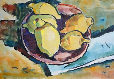Karl Schmidt-Rottluff, 'Lemons | Zitronen', 1943