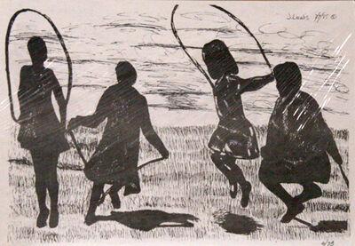 J. Lewis, 'Children Jumping Rope', 1985