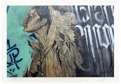 Swoon, 'Ice Queen, Jogjakarta Indonesia', 2016