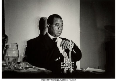 Herman Leonard, 'Louis Armstrong', 1960-printed later