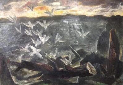 B. J. O. Nordfeldt, 'Flight of Birds', 1946