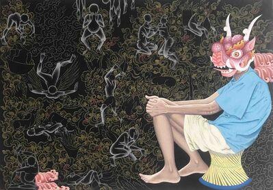 Tsherin Sherpa, 'Madmandu Blues 2', 2018