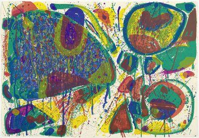 Sam Francis, 'Bright Jade Ghost', 1963