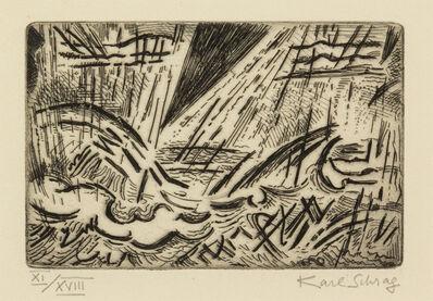 Karl Schrag, 'Rainstorm'