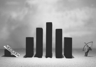 Gilbert Garcin, 'Surmonter les obstacles - Overcoming obstacles', 2005