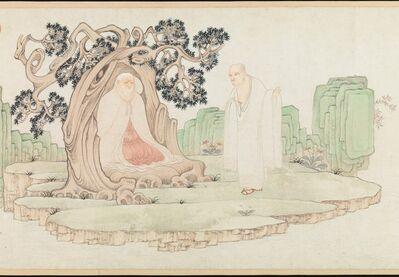 Wu Bin 吴彬, 'The Sixteen Luohans (明 吳彬 十六羅漢圖 卷)', 1591