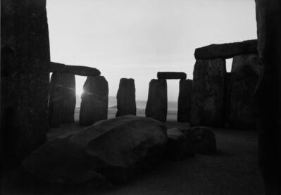 Paul Caponigro, 'Sunrise, Stonehenge 1970', 1970
