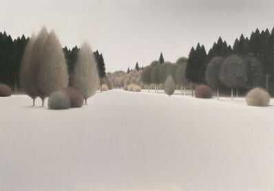 Leo Wellmar, 'Winter pines', 2020