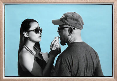 Ed Templeton, 'Ice Cream Couple, Huntington Beach', 2013