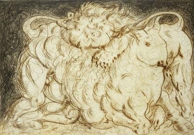 Roberto Barni, 'Toro E Leone', 1982