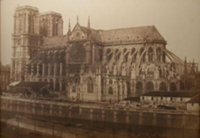 Édouard Baldus, 'Notre Dame Rue de Rivoli', 1852