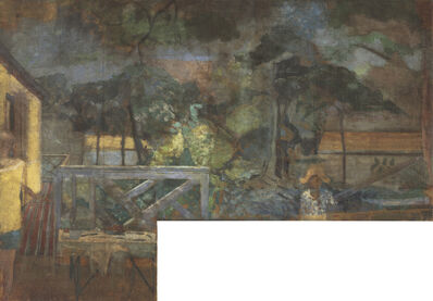Michael Andrews, 'The Colony Room Landscape', ca. 1959