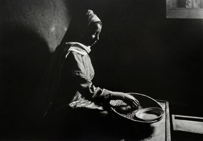 Chester Higgins, Jr., 'ETHIOPIA: Morning Chore', 1989 -printed 2006