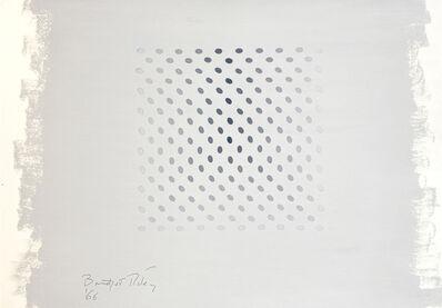 Bridget Riley, 'Untitled (Study towards Deny and Nineteen Greys)', 1966