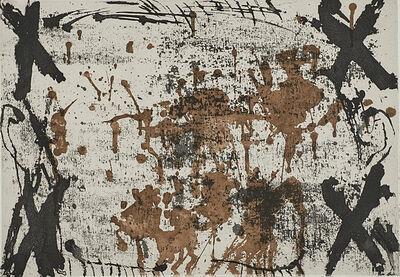 Antoni Tàpies, 'Les Quatre Croix ', 1969
