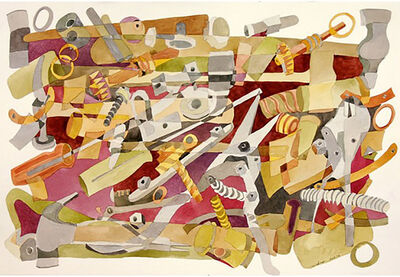Vera Ferro, 'Ferramentas  4   |   Tools 4', 2005