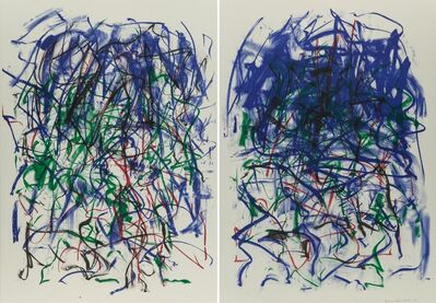 Joan Mitchell, 'Sunflower II', 1992