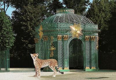 Vikky Alexander, 'Cheetah and Pavillion at Sans Souci', 2013