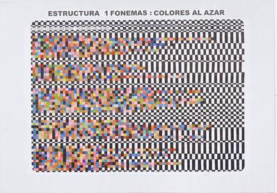Teresa Burga, 'Borges', 1974-2017