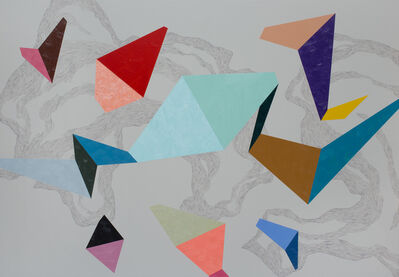 Zsófi Barabás, 'Flowing whirl', 2015