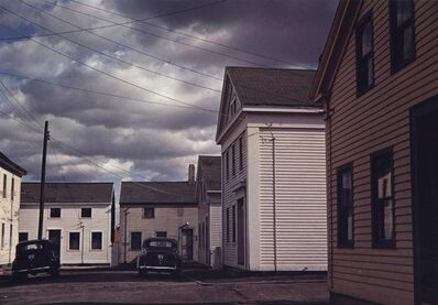 Jack Delano, 'Square with Old Houses, Stonington, CT, Nov. 1940', 1940-printed 1985