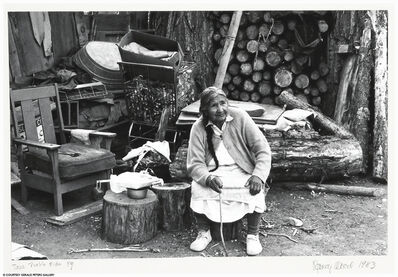 Nancy Wood, 'Taos Pueblo Elder', 1983