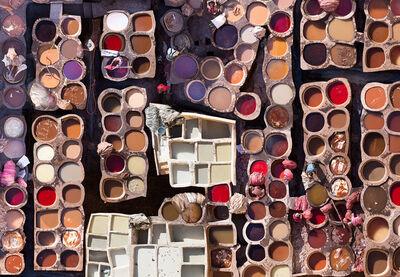 Katrin Korfmann, 'Choura, Fes, 11th Century Tannery, Morocco', 2018