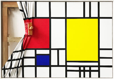 Jean-Paul Donadini, 'Mondrian Rouge', 2019