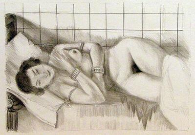 Henri Matisse, 'Figure endormie, chale sur les jambes', 1929
