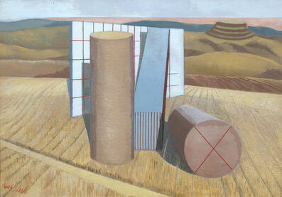 Paul Nash, 'Equivalents for the Megaliths', 1935