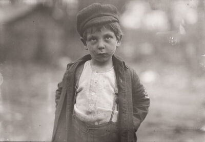 Lewis Wickes Hine, 'Street Kid, New York City, New York', ca. 1910
